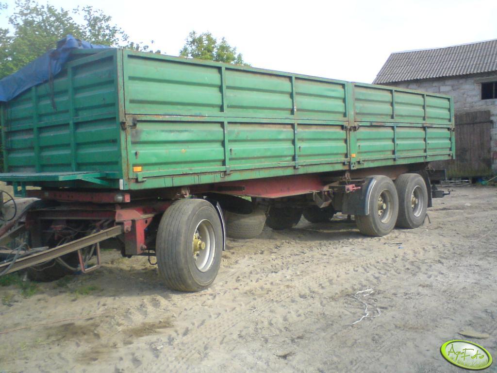 Przyczepa KRONE 18 ton