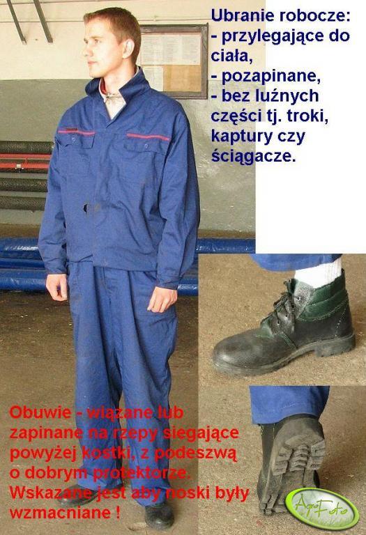 Ubranie i buty robocze
