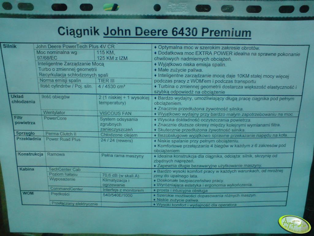JD 6430 Premium