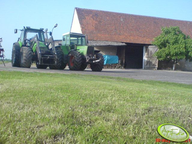 Fendt 615 & Deutz-Fahr 150