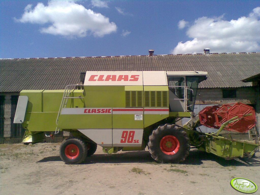 Claas 98SL Classic