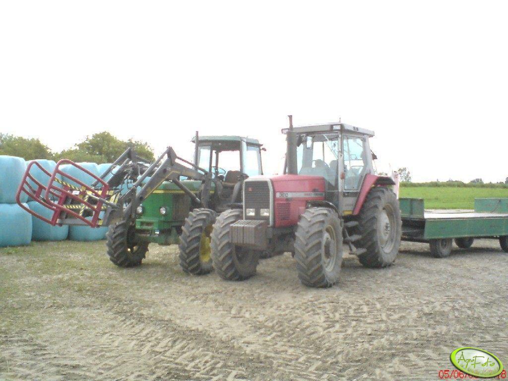 MF 3610 i JD 3140
