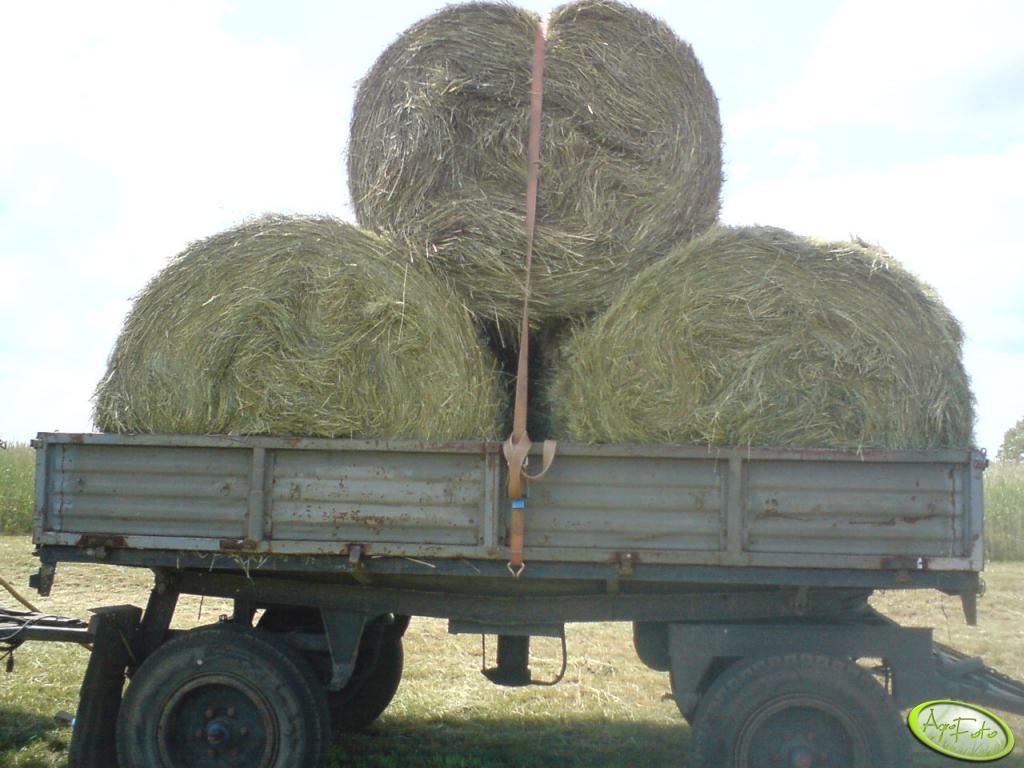 Przyczepa - Autosan + Baloty