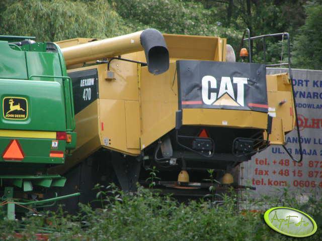 CAT Lexion 470