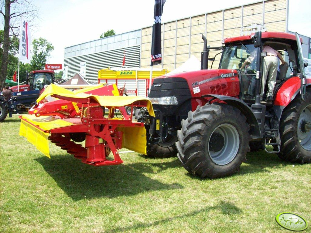 Case Puma 210 + Pottinger