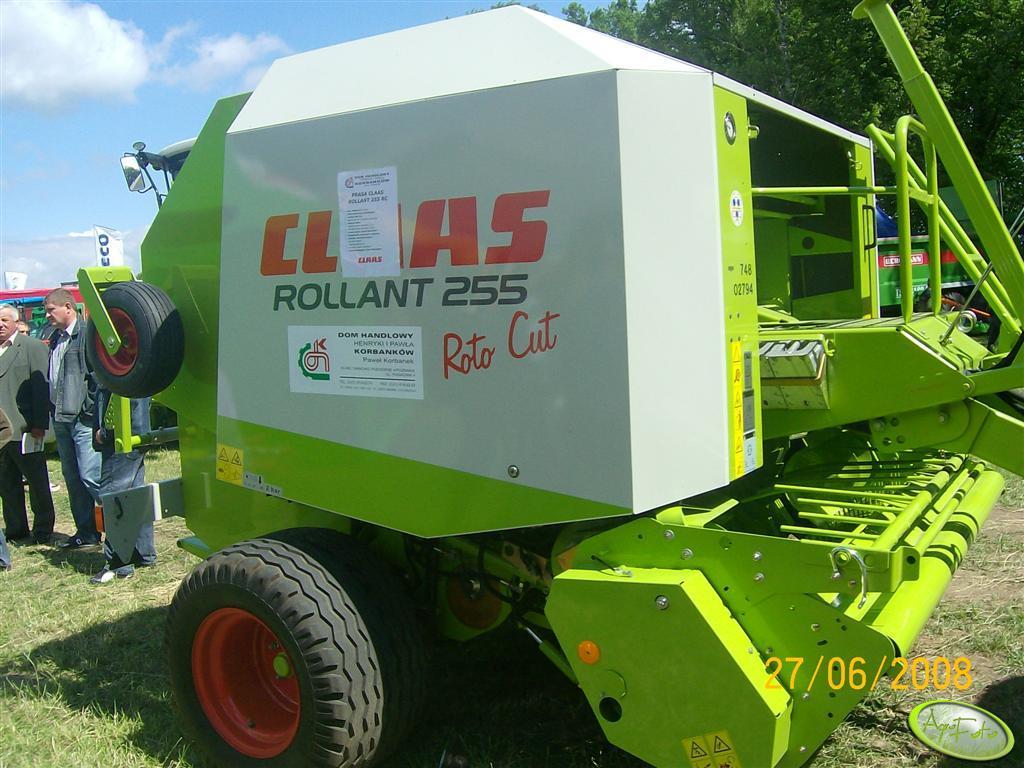 Claas Rollant255 Roto Cut
