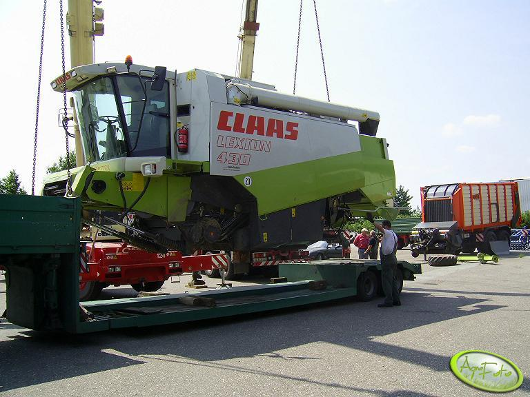 Claas Lexion 430