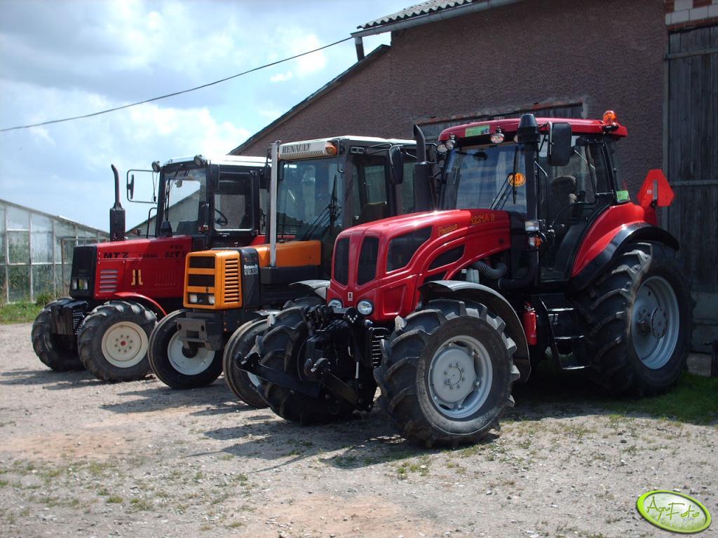 Pronar 1221 AII & Renault 95,12TX & MTZ 82TS