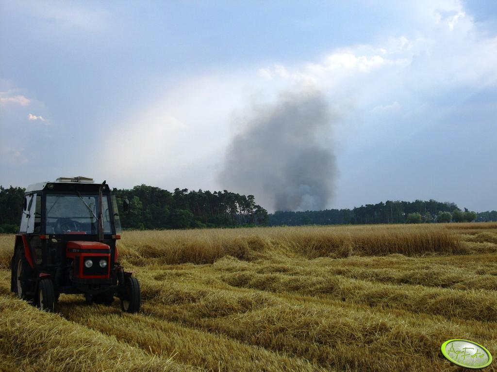 Zetor7211 i dym