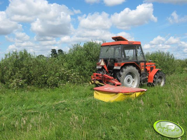 Zetor 7745+Pottinger CAT186