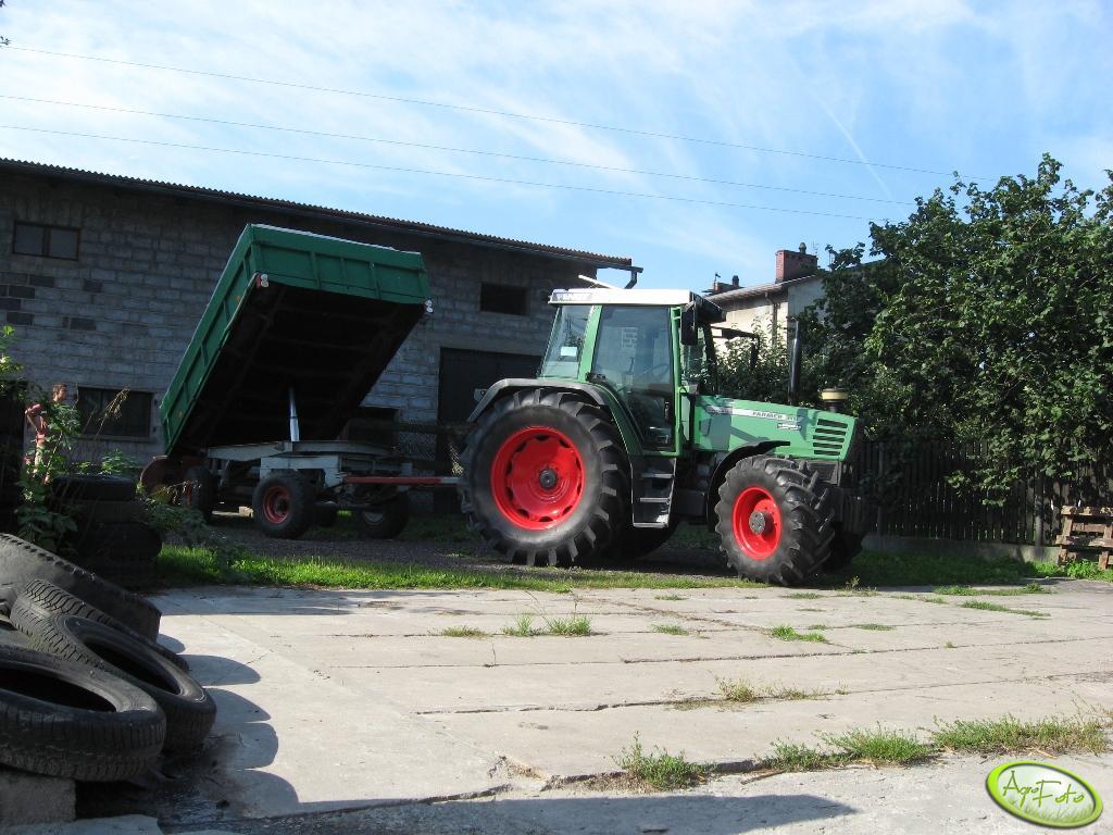 Fendt Farmer 310 + przyczepa