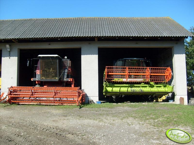 Claas Tucano 430 + Bizon BS5110
