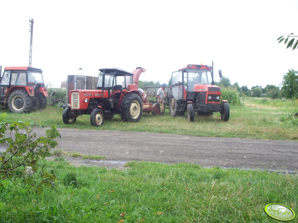 Ursus C-360 i 912 oraz Zetor 3320