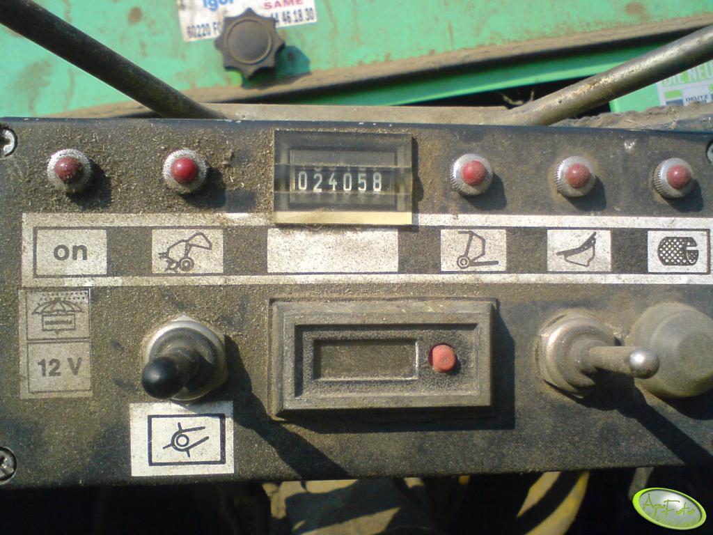 Deutz Fahr GP.20-0C - pulpit sterujący