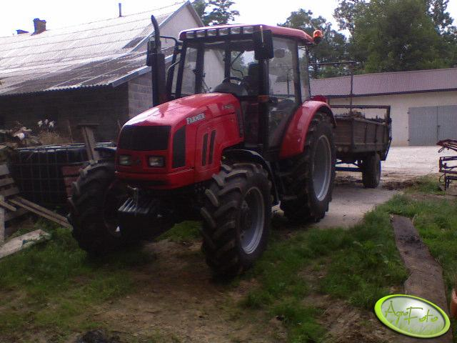 Farmer 8244 + Rozrzutnik obornika