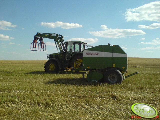 JD 6420 SE oraz Sipma Farma II Z-279/1