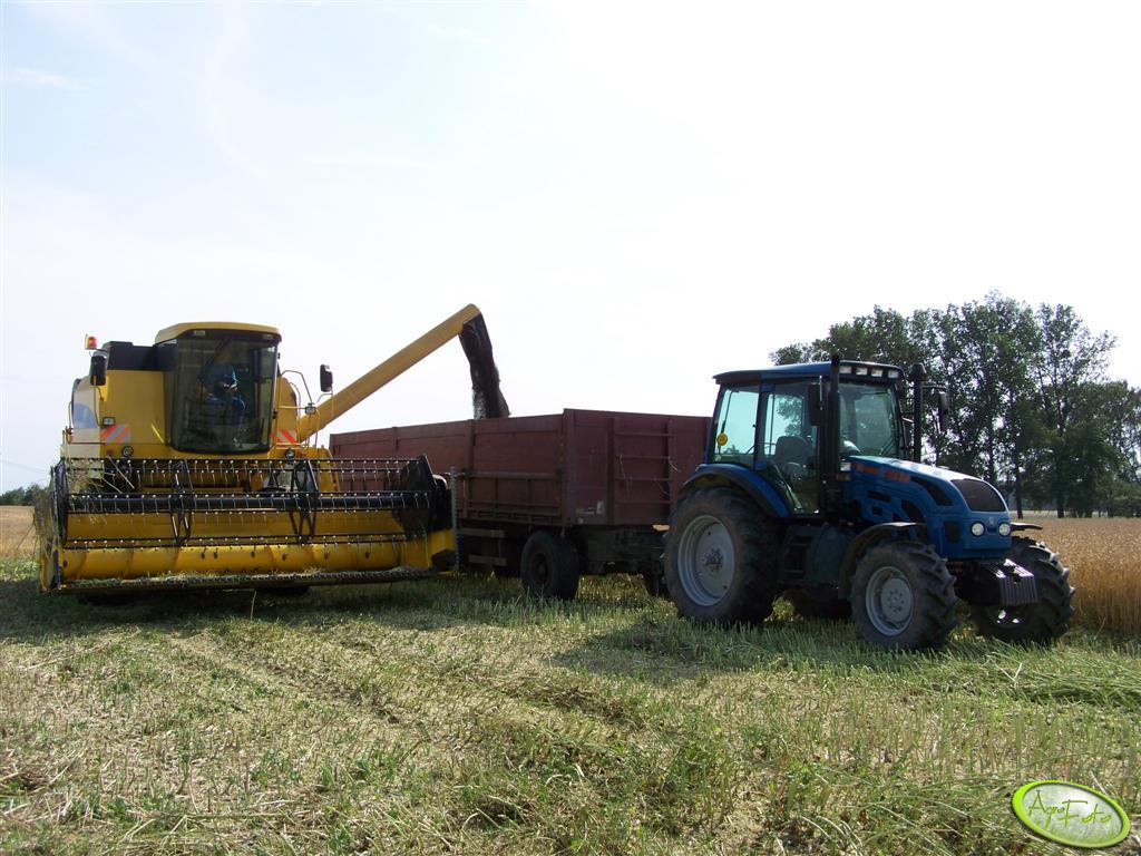 New Holland TC56 + Pronar 1523A