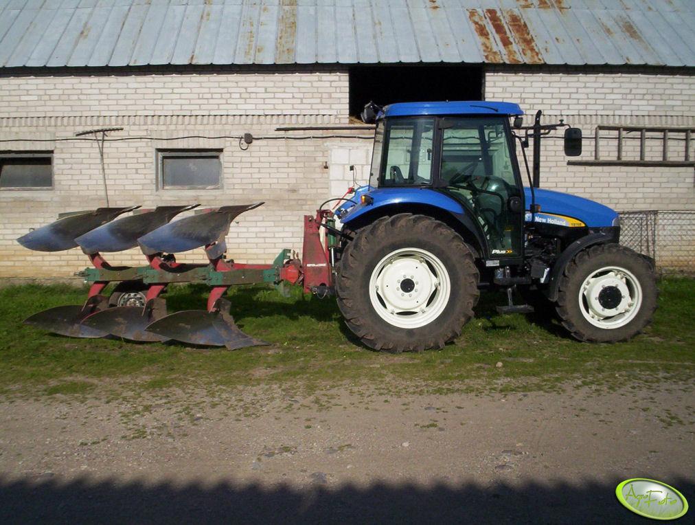 New Holland TD70D  i Kverneland
