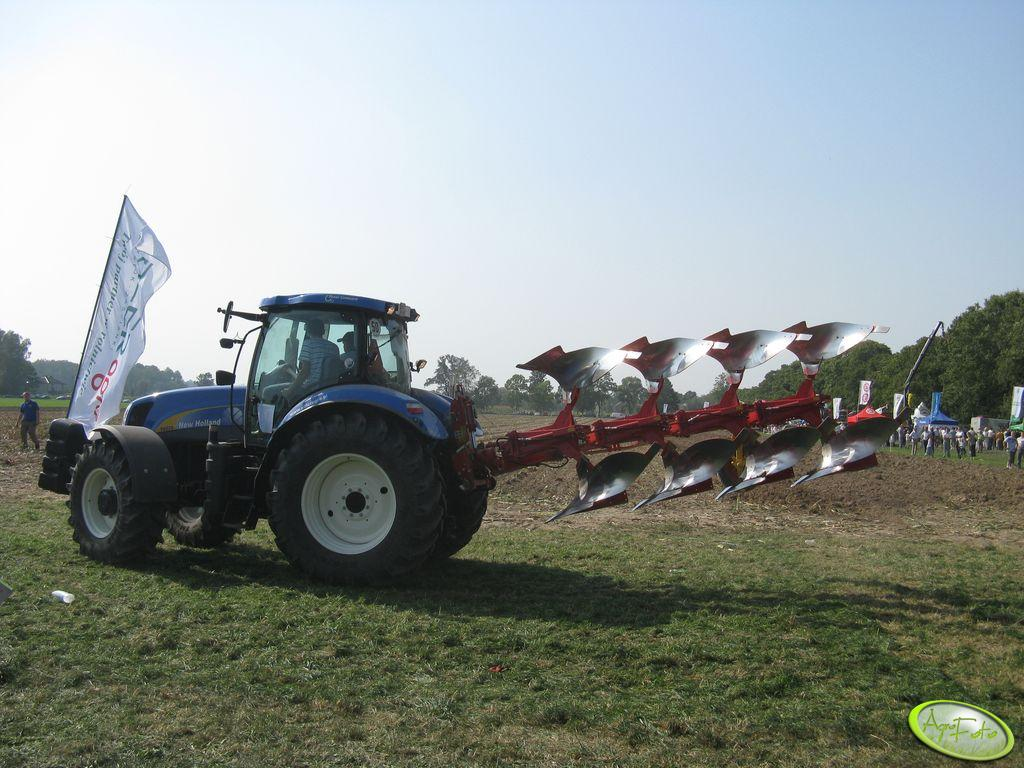 New Holland T6070 & Pottinger