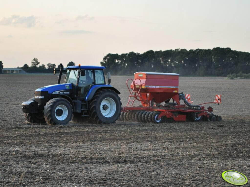 New Holland TM190 + Horsch PRONTO 4DC