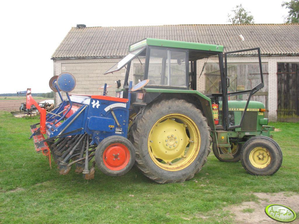 John Deere 2030 + Nordsten NS1030 Howard