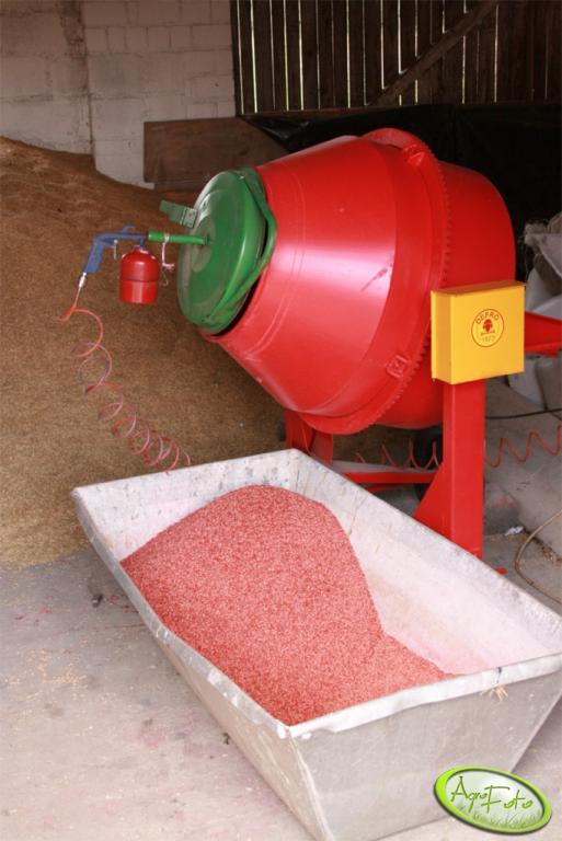 Zaprawiarka do nasion