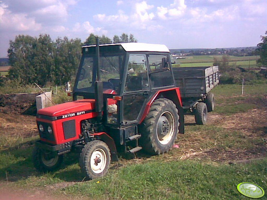 Zetor 5211+Autosan D732