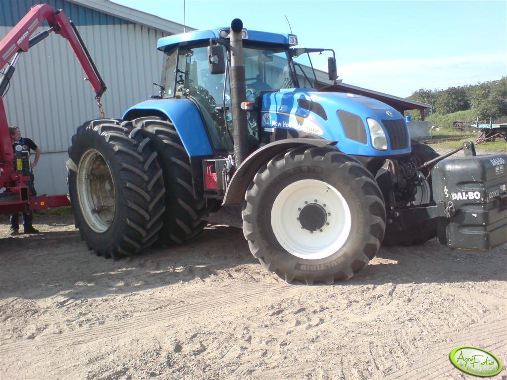 New Holland TVT 190