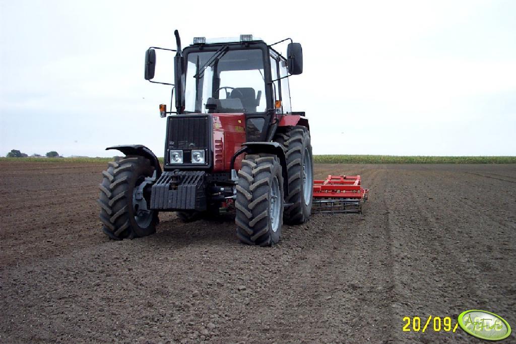 Belarus 952 + agregat Agro-masz 3.60