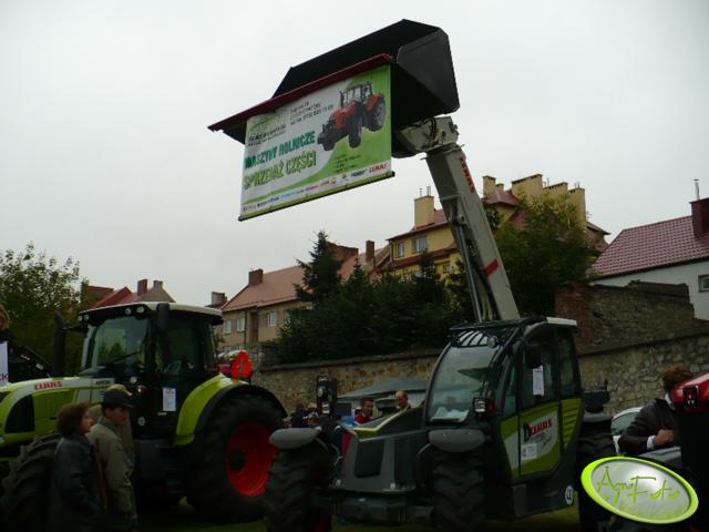 Claas Scorpion + Claas Arion 640