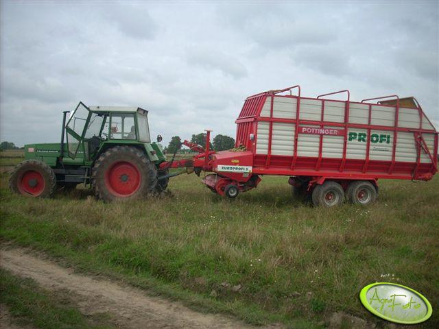 Fendt 615 LS +Pottinger