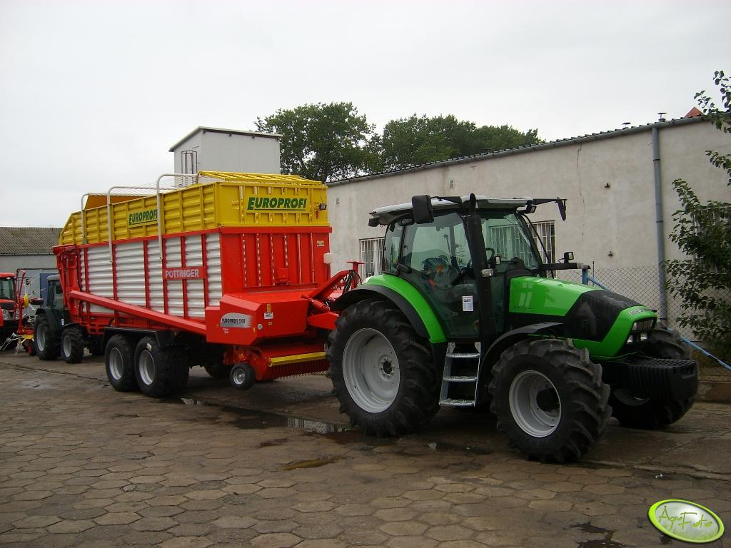 Deutz-Fahr + pottinger