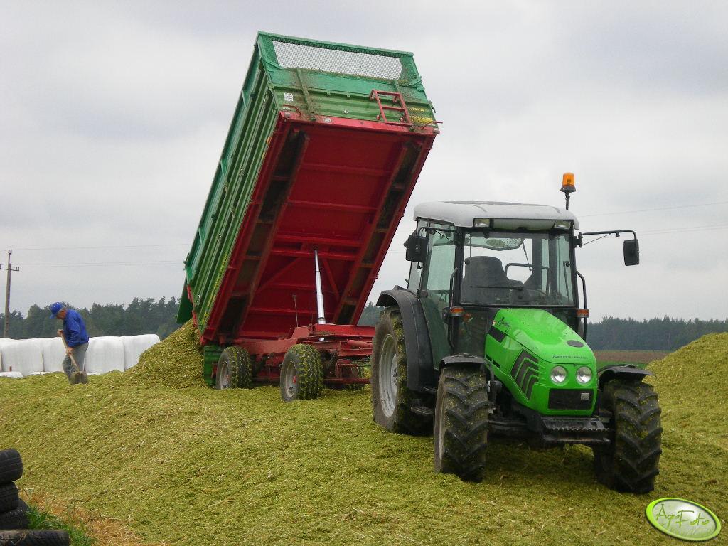 DF i pryzma z kukurydzy