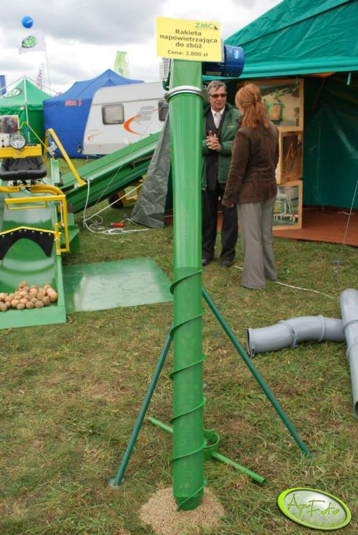 Rakieta napowierzająca do zbóż.