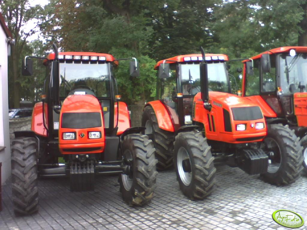 2x Farmer F-10244 C1 & Belarus 820