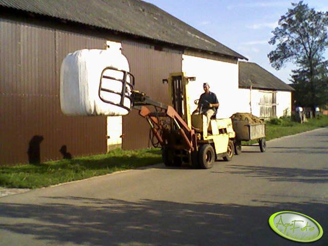Widlak + ścisk do bel + wózek kukurydzy