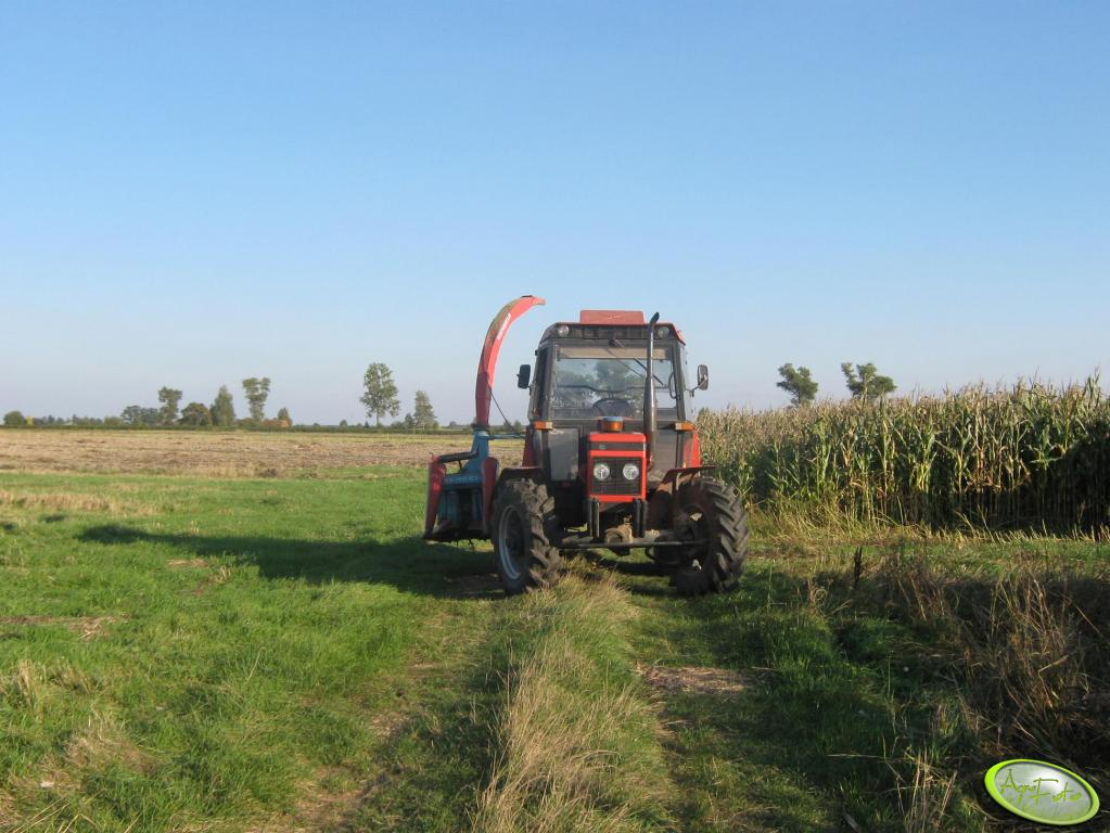Zetor 7745+Mengele 350 Turbo