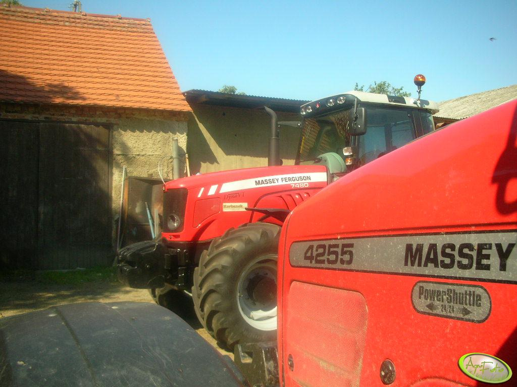 Massey Ferguson 4255 + 7480