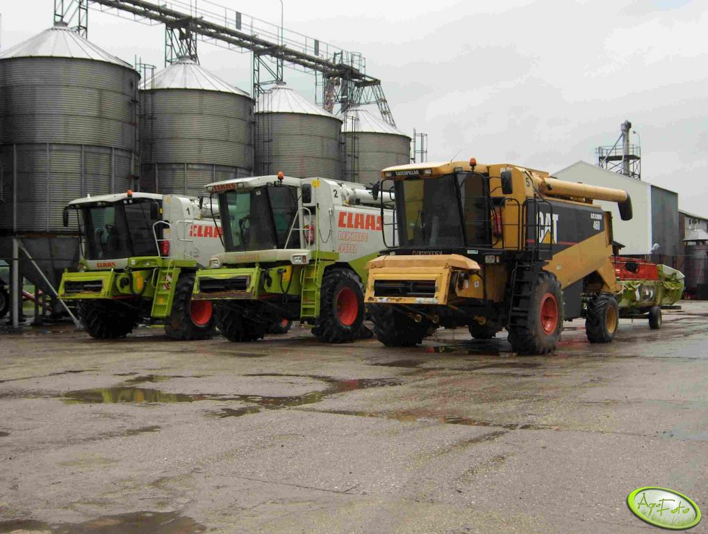 Claas & Cat LEXION