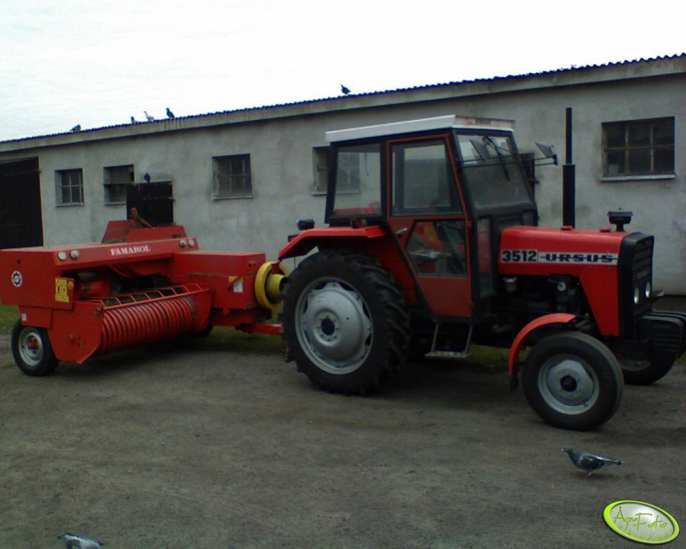 Ursus 3512 + Famarol Z-511