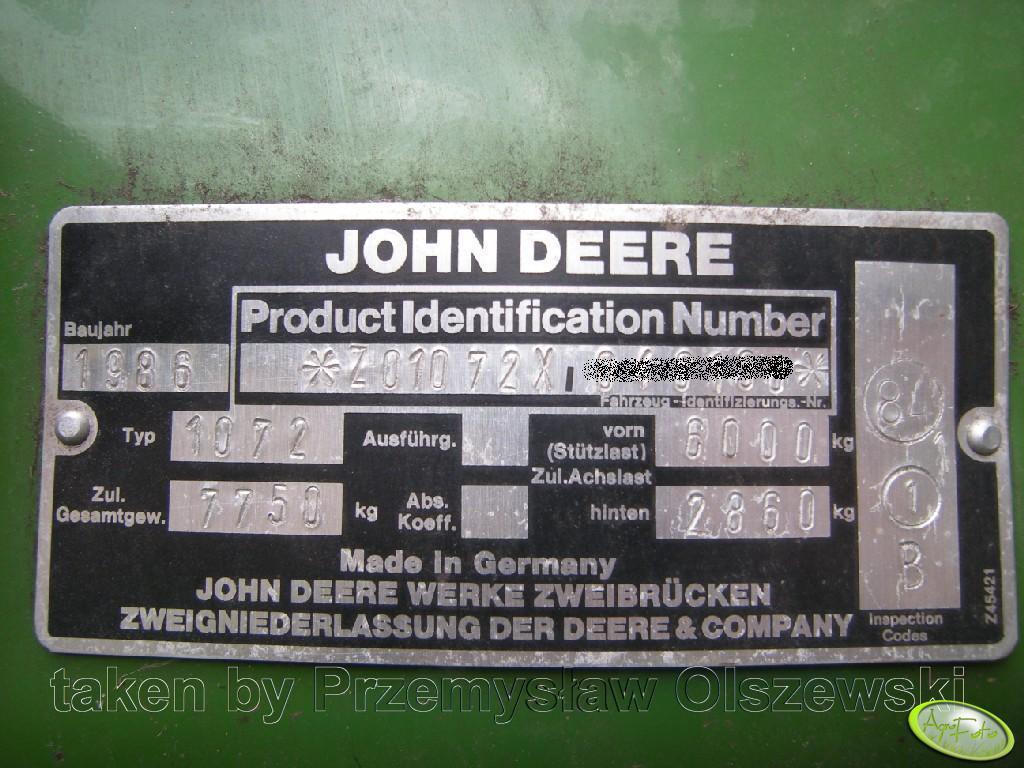 John Deere 1072