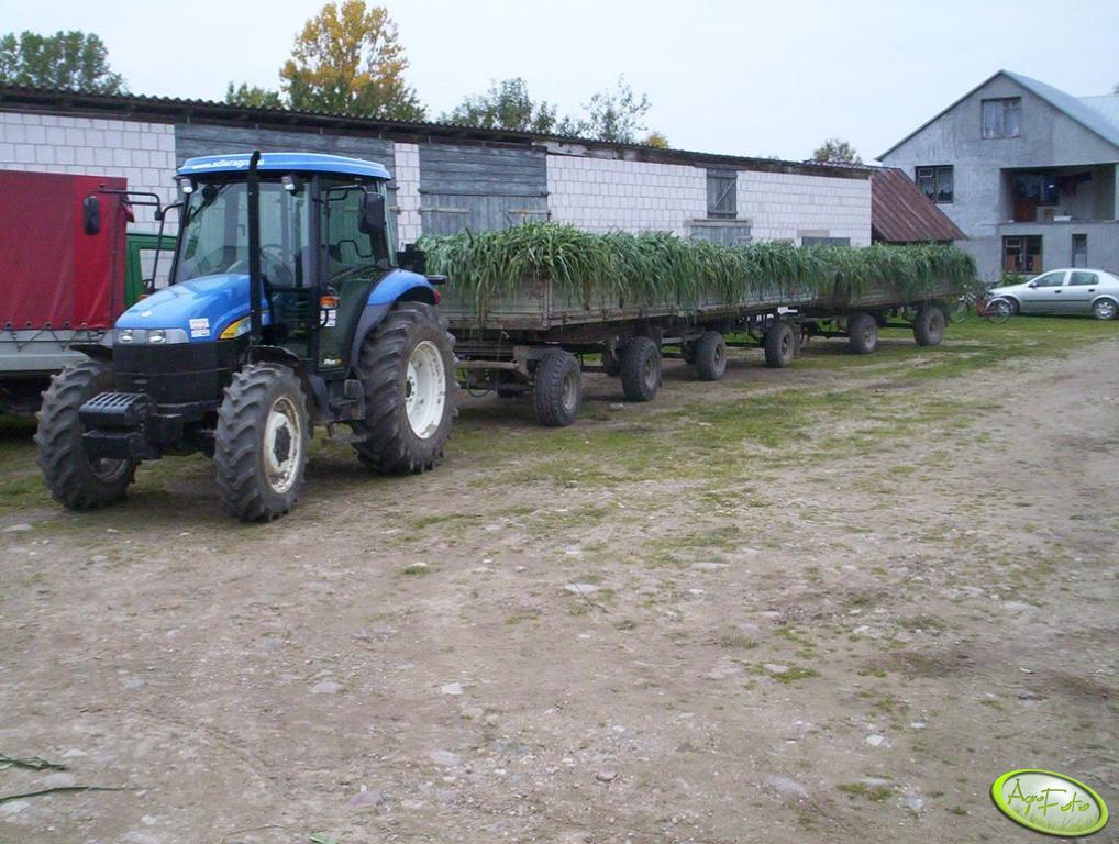 New Holland TD70D Plus