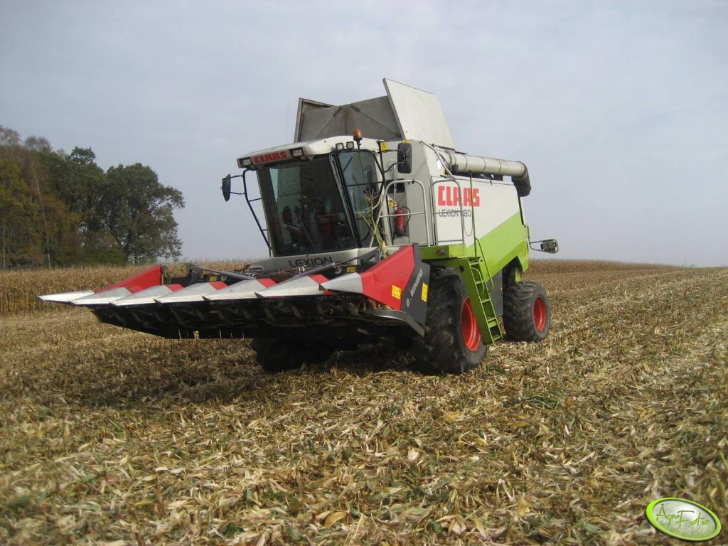 Claas Lexion + Dominoni