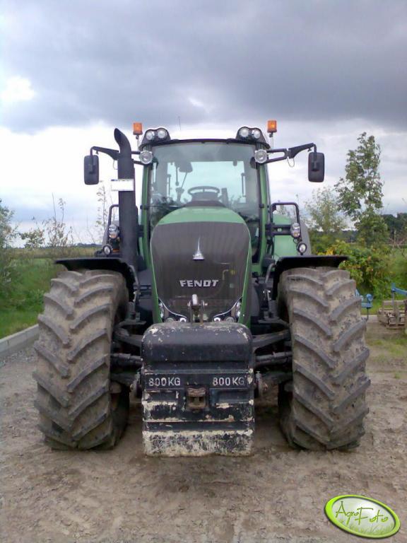 Fendt 927 Vario + obciążnik 800kg
