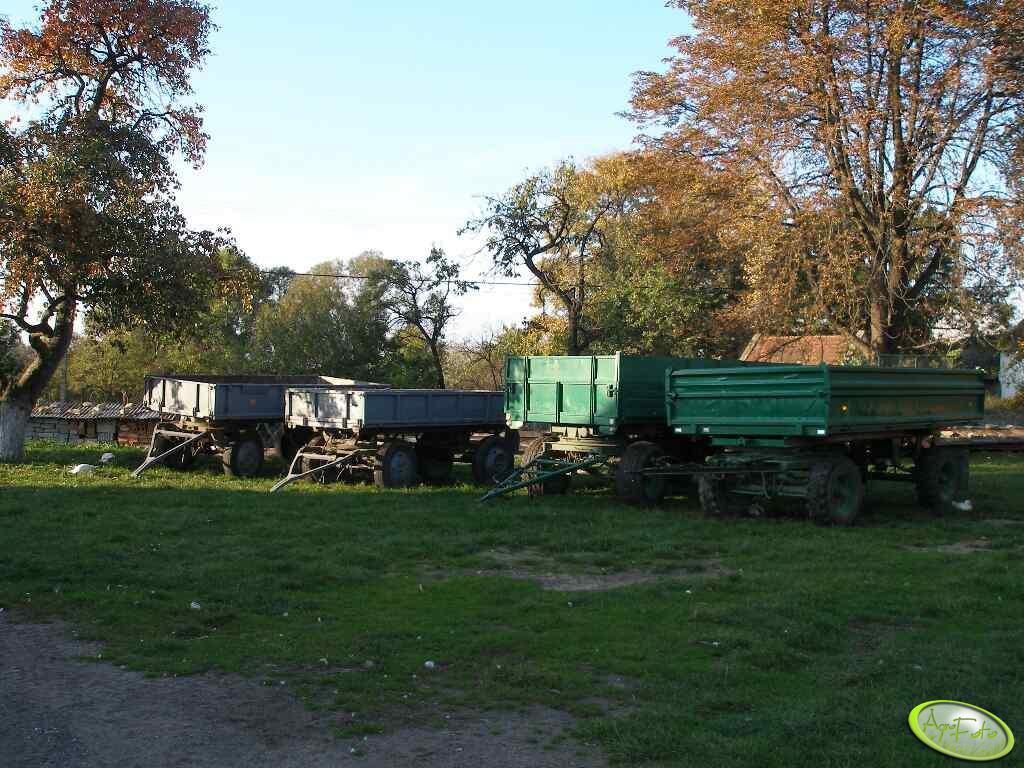 Przyczepa polska x2, Brandys (8t), Hl-6011 (7t)