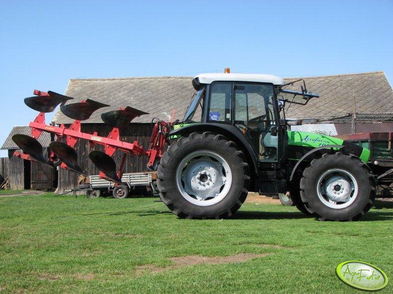 Deutz-Fahr Agrofarm 100 + Goudland