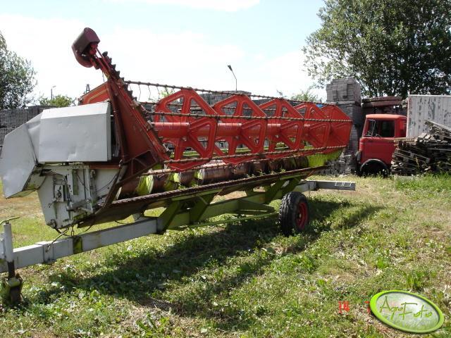 Claas Dominator 228 - heder