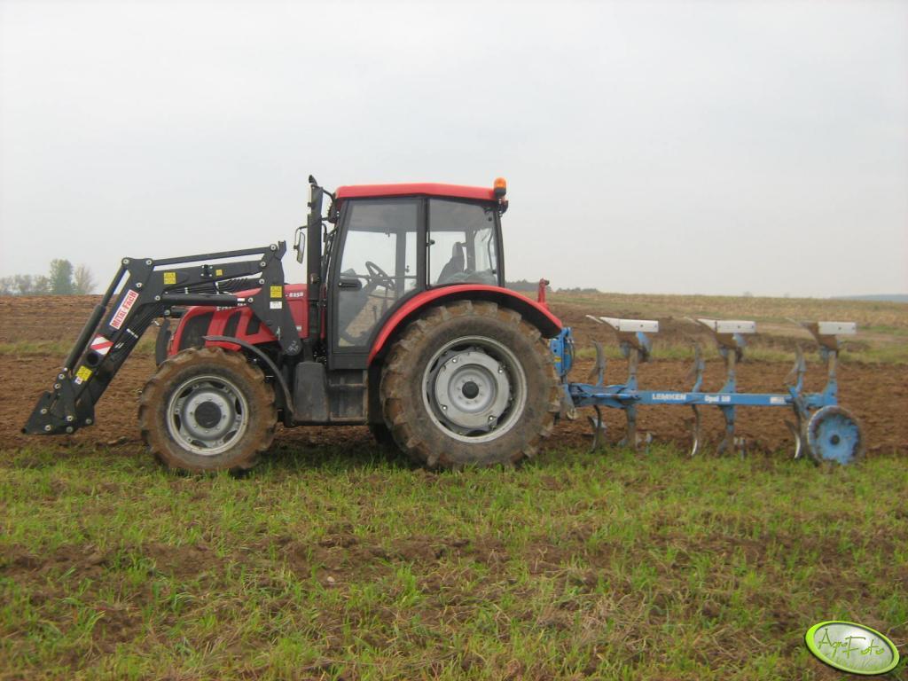 Farmer 8258 + Lemken