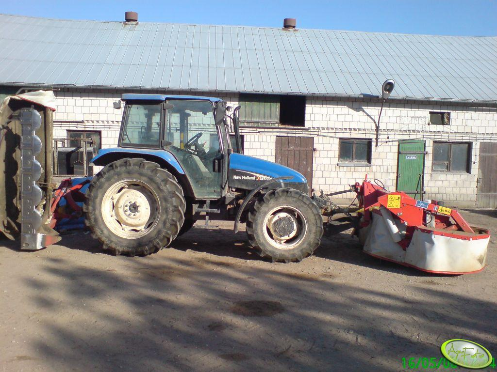 New Holland TL100 i kosiarki