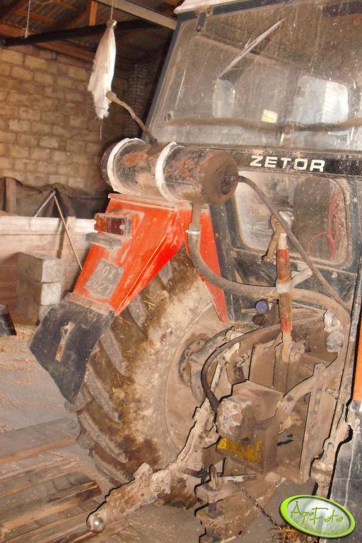 Zetor 7745 - hydraulika do TUR-a